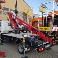 GSR B180T z udźwigiem kosza 300kg